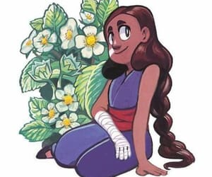 flowers, connie, and steven universe image