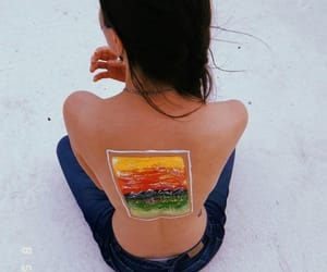 arte, piel, and pintura image