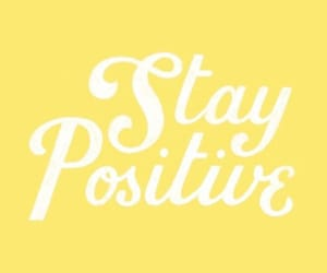 optimistic, self love, and stay positive image