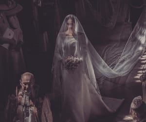 wedding, royal wedding, and dress image