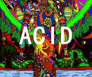 acid, drugs, and trippy image