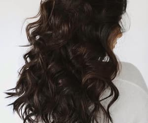aesthetic, girl, and hair image