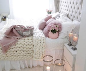 bedroom, decorations, and home image