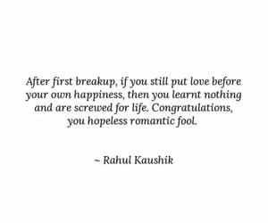 alone, breakup, and broken image