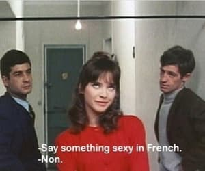french, movie, and quotes image
