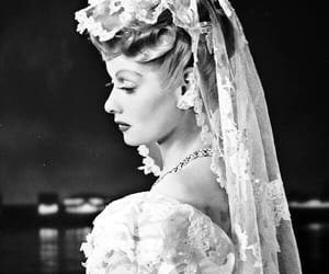Lucille Ball, Lucy, and wedding image