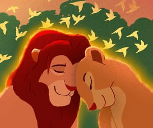 disney, ️nala, and lion king image