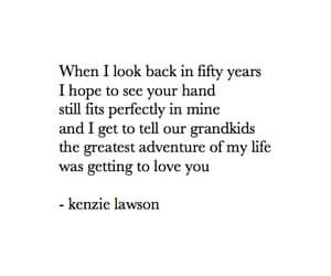 quotes, poem, and kenzie lawson image