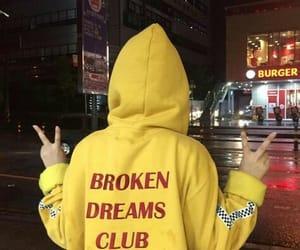 yellow, grunge, and aesthetic image
