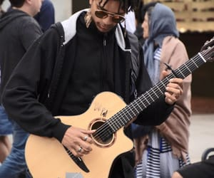 guitar, music, and solo image