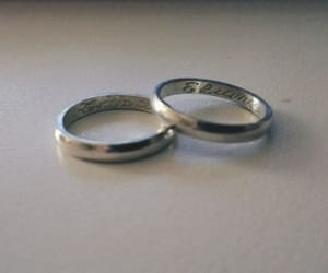 anillos, compromiso, and love image