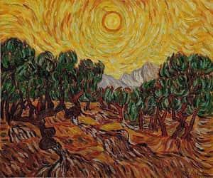 art, peace, and sun image