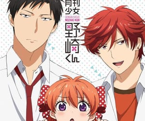 anime, sakura, and gekkan shoujo nozaki-kun image