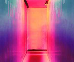wallpaper, neon, and pink image