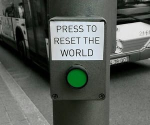 world, reset, and quotes image