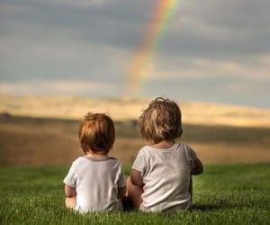 arcoiris, lindos, and nenes image