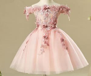 floral dress, tutu dress, and flower dress image