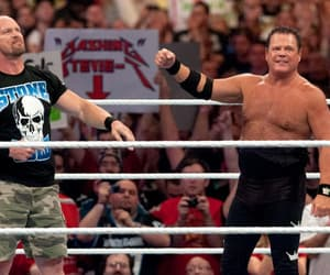 stone cold steve austin, wwe, and jerry lawler image