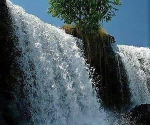 paisaje, cascada, and belleza image