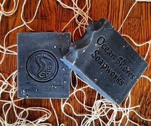 hair product, handcrafted soap, and ocean shores soapworks image