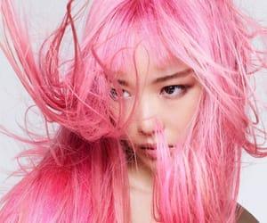 belleza, rosa, and hair image