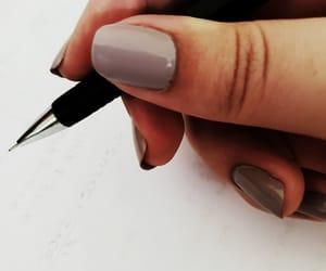 aesthetic, hand, and nailpolish image