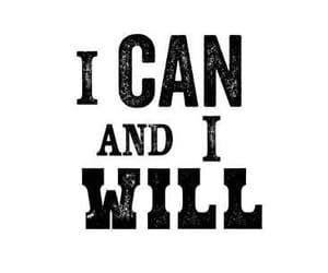 english, i can, and i will image