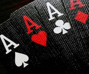 ace, cards, and poker image
