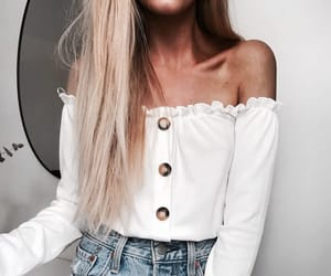 blond, blonde, and clothes image