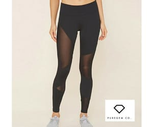 fitness clothes, workout clothes, and workout legging image
