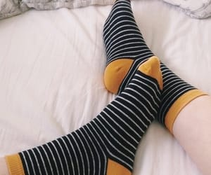 socks, aesthetic, and black image
