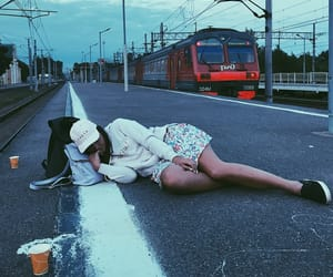 grunge, party, and railway image