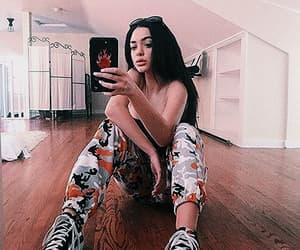 luna, selfie, and mirror selfie image