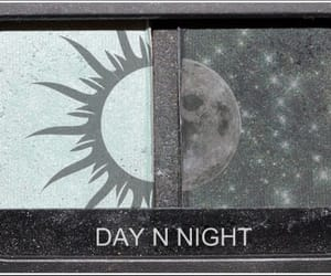 day, night, and makeup image
