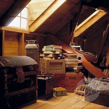 attic, old, and vintage image