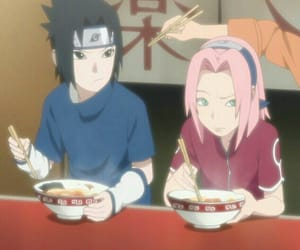 sasusaku, anime, and sasuke image