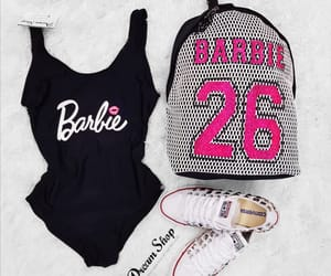 backpack, costume, and barbie image