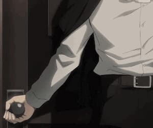 gif, attack on titan, and levi image