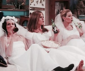 friends, funny, and bride image