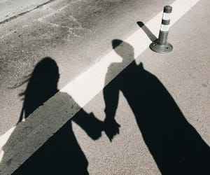 couple, love, and shadow image