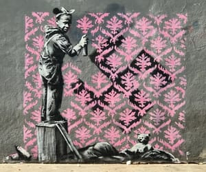 arte, BANKSY, and urbano image