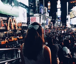 aesthetic, girl, and new york image