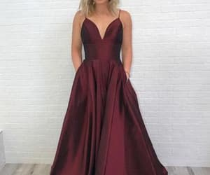 long prom dress and simple prom dress image