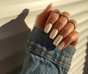 nails and denim image