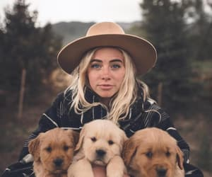 dogs, girl, and inspiration image