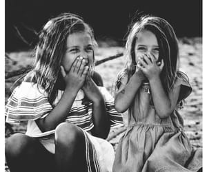 aesthetic, black and white, and children image