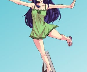 coloring, wendy marvell, and fairy tail image