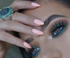 beauty, blending, and eyebrows image