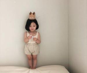 aesthetic, little girl, and Nude image