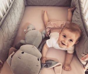 baby, dress, and elephant image